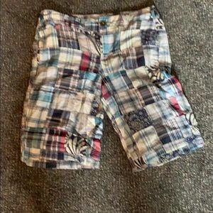 Plaid pre-loved plaid shorts